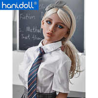 Hanidoll 150cm TPE Sex Puppe Echt Vagina Sex Puppen Kleine Brust Sex Puppe Männliche Liebe Puppen Realistische Erwachsene Puppen sex Spielzeug Für Männer