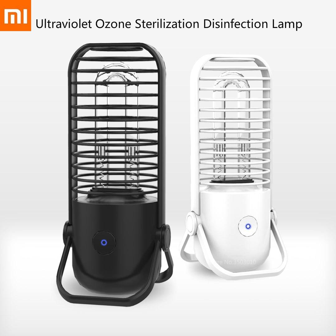 Xiaomi Ultraviolet Ozone Sterilization Disinfection Lamp Sterilization Lamp Black UV Disinfection Lamp New Coronavirus-2019-nCov