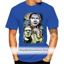 Men tshirt Classic Horror Monsters T Shirt Printed T Shirt tees top
