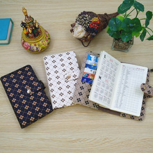 2021 Planner A6 Diary Agenda Leather Journal Notebook With Widely Usage Reuse Folder With Multi-organizer Pockets(8PCS)
