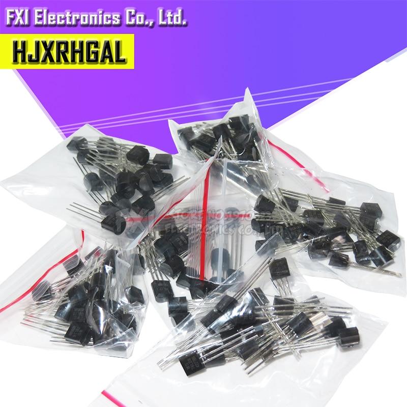 20PCSX6values=120pcs 78L05 78L06 78L08 78L09 78L12 78L15 TO-92 TO92 Transistor Package Assorted Kit New And