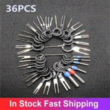 59/41/36/26 pçs automotivo plug terminal remover conjunto de ferramentas chave pino extrator carro fio elétrico crimp conector kit acessórios