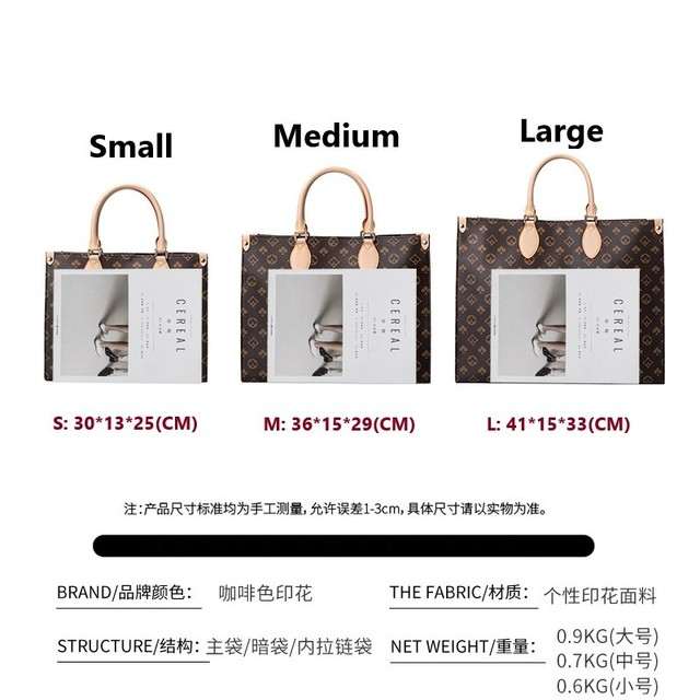 Luxury Fashion One Shoulder Tote  6