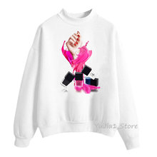Зимняя одежда Женская толстовка роскошный розовый женский спортивный