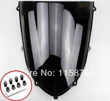 Черный чехол на лобовое стекло мотоцикла для Kawasaki ZX10 R 2004-2005 ZX-10R 04 05