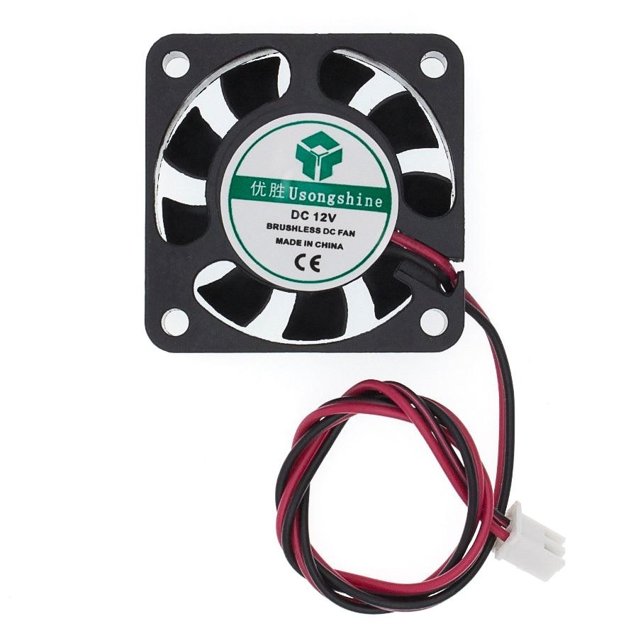 40x40x10mm 4010 fans 12v Volt Brushless DC Fans for heatsink cooler cooling radiator for 3d printer parts Cooling Fan