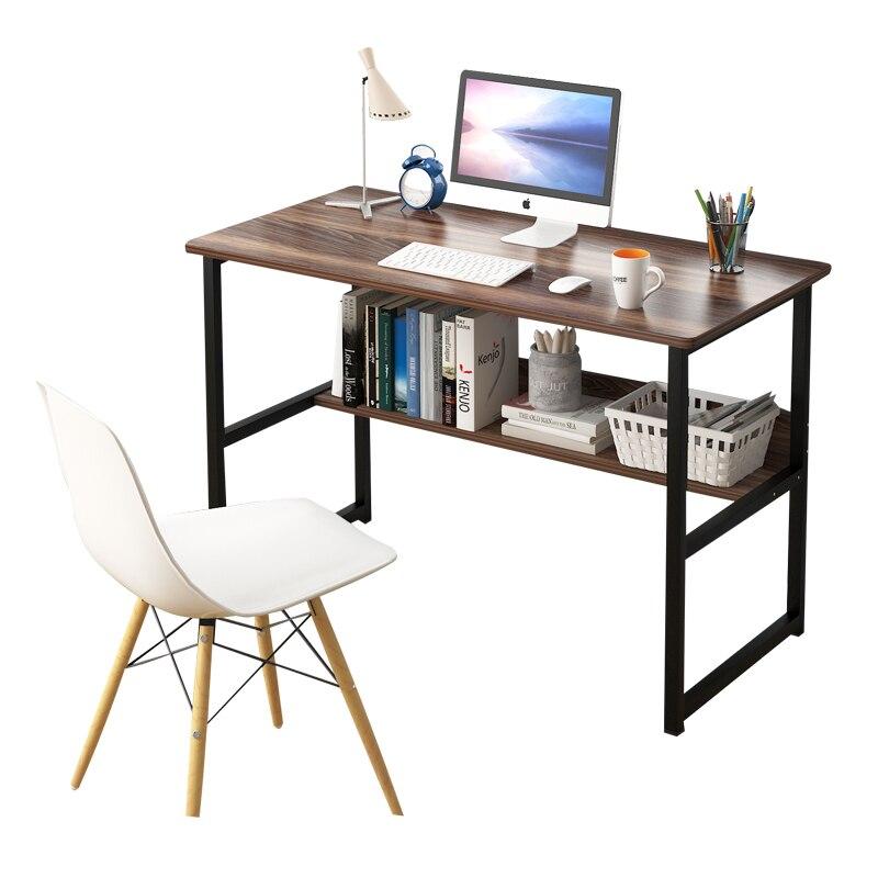 Computer Desk Desk Desk Bookshelf Combination Simple Household Student Desk Simple Bedside Small Table Dormitory