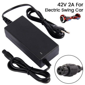 42V 2A Universal Battery Fast Charger for Hoverboard Smart Balance Wheel 36v electric power scooter Adapter EU/US Plug