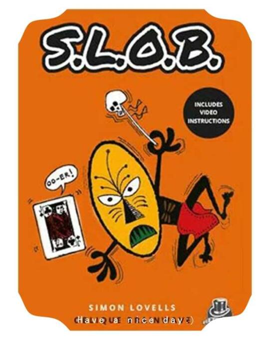 Slob By Simon Lovell & Kaymar Magic (Online Instructions), Magic Tricks