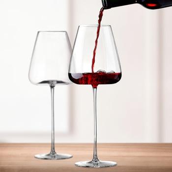 Creative 270-600Ml Convex Ultra-Thin Crystal Wine Glass 1