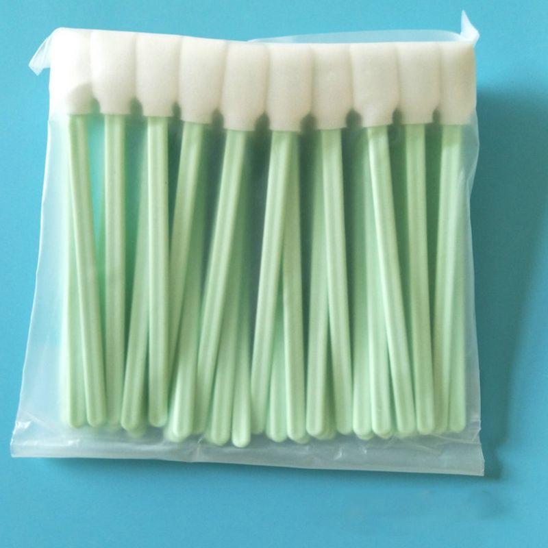 50Pcs/Pack Square Rectangle Foam Cleaning Swab Sponge Sticks For Inkjet Print Head Optical Lens Gun Cleaning Solvent Resistance