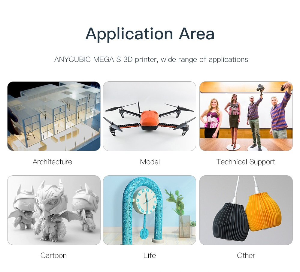 Image 3 - ANYCUBIC i3 Mega S 3D Printer Kit Upgrade i3 Mega Huge Build Volume Rack Rigid Metal Frame FDM 3d Printer impresora 3d Drucker3D Printers   -