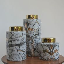 christmas decorations for home wedding decoration  Retro Home Decorations Ceramic Decoration Cans New Chinese Mixed