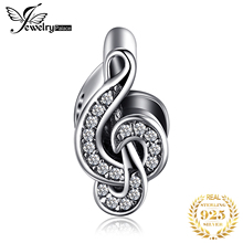 JewelryPalace Treble Clef 925 Sterling Silver Beads Charms Original For Bracelet original Jewelry Making