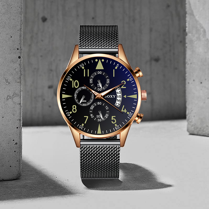 Hd4243b5c9b3745c89e183e3b56266053i Quartz Wristwatch Luminous SOXY Men's Watches Classic Calendar Mens Business Steel Watch relogio masculino Popular saati hours