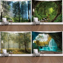 Natural Forest Tapestry Landscape Printed Large Wall Tapestries Cheap Hippie Wall Hanging Bohemian Wall Art Decor 150 200 230
