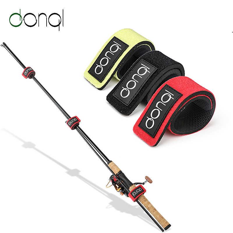 Fishing Big Rod Tie Tackle Belt Strap Elastic Wrap Band Pole Holder Accessory US