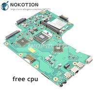 Nokotion 6050a2357401-mb-a02 1310a2357402 v000225010 para toshiba satélite c650d c655d portátil placa-mãe soquete s1 cpu livre