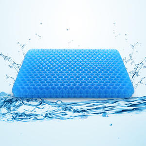 Cushion Auto-Accessories New Gel Honeycomb Pain-Pad Sit Ice-Gel Cervical-Health-Care