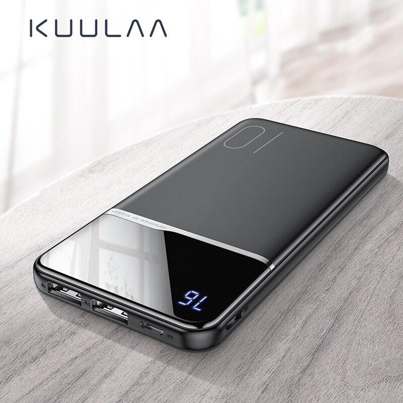 KUULAA power bank 10000mah portable charging poverbank For Xiaomi Redmi 8 7iphone 11 X XR powerbank 10000 mah external battery Power Bank    - AliExpress