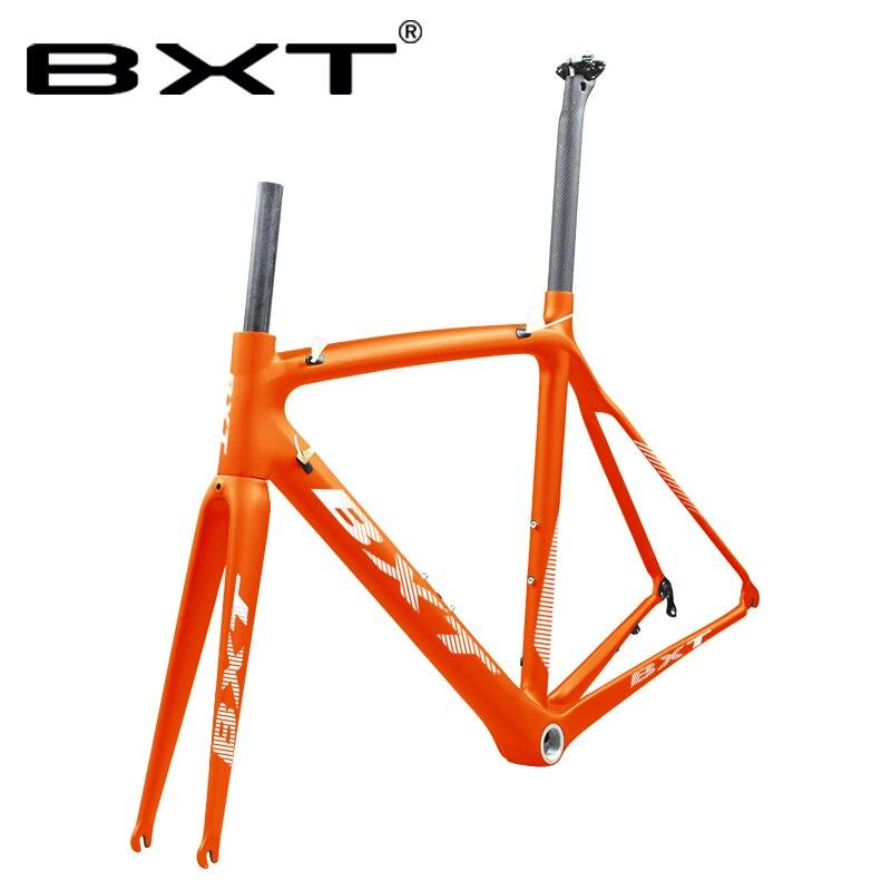 T800 Carbon Fiber Road Bike Frame V Brakes UD 700C Carbon Road Cycling Frame Cadre Carbone Route Racing Bicycle Frameset