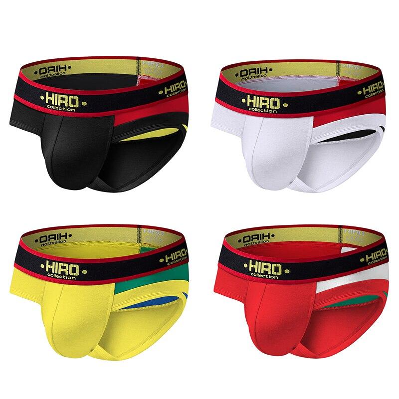 4ps Hiro Men Briefs Underwear  Sexy  Gay  Cotton  Male Underwear   Sexy Guys Underwear