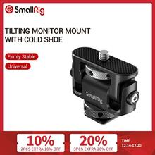 SmallRig Universal Tilting Monitor Mount with Cold Shoe For SmallHD/Atomos/Blackmagic Monitor/Screen/EVF Mount  2431