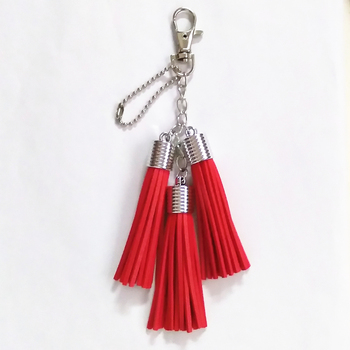 13 Colors Pu Leather Tassels Key Chain Women Keychain Bag Pendant Sliver Cap Car Key Chain Ring Holder Retro Jewelry keychain acrylic man key chain identity v women key ring chain for pants pendant kids key holder jewelry brelok kael invoker