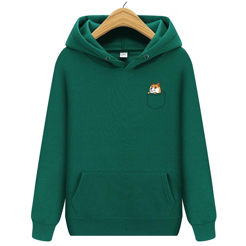 Autumn Winter New Brand Pocket Cat Letter Printed Hoodies Men Casual Hoodies Sweatshirt Sportswear Male Fleece Hooded Jacket