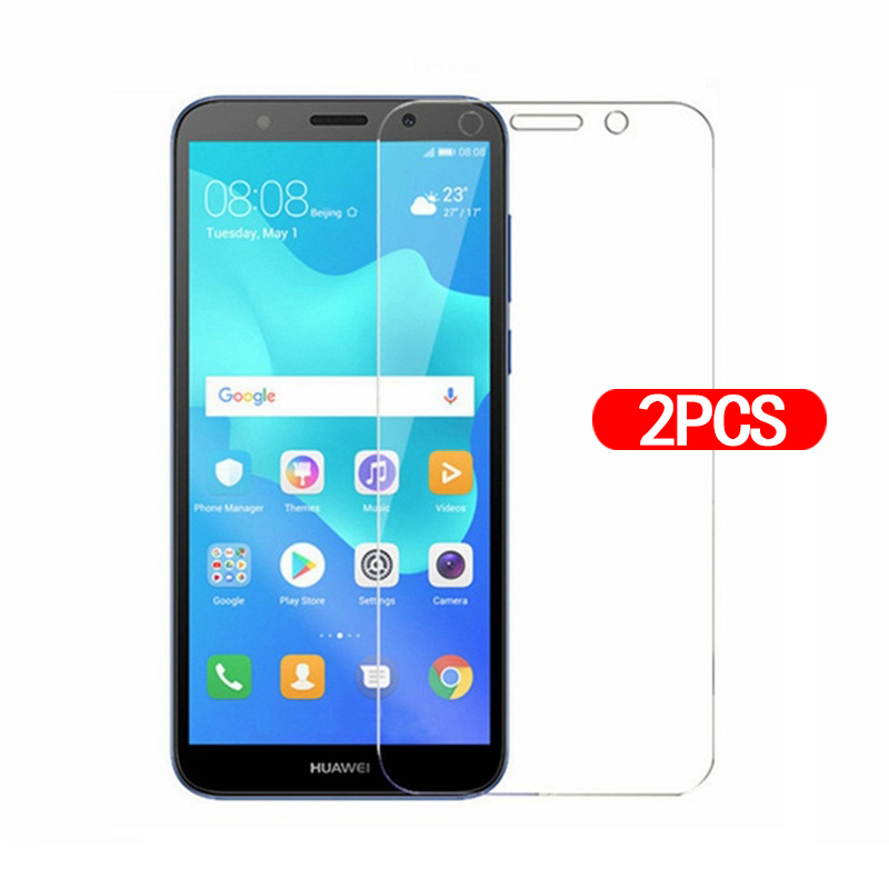 2pcs Tempered Glass For Huawei Y5 Lite 2018 Screen Protector Protective Glass Hauwei Y 5 Light HauweiY5 Lite Y5lite Glas Film