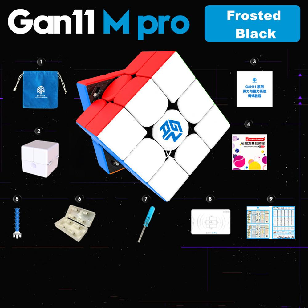 GAN 11 M Pro Magnetic 3x3x3 Magic Cube Speed GANS Cube Magnets Puzzle Cubes GAN11M Toys For Children 8
