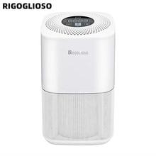 RIGOGLIOSO air cleaner TURE HEPA air purifier 4speed adjustment eco purificateur air hepa screen display air filter high quality