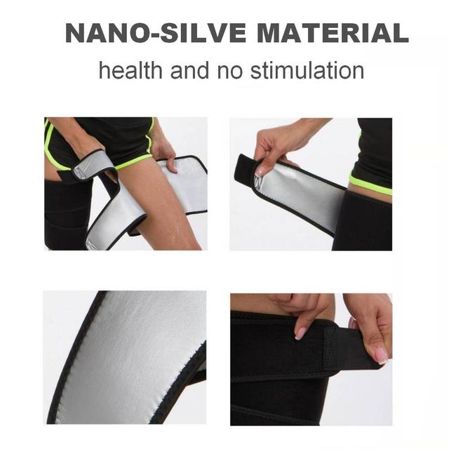 Thigh Arm Trimmers Sauna Sweat Legs Shaper Calories off Warmer Slender Slimming Arms Burn Fat Thermo Neoprene Compress Belt 2
