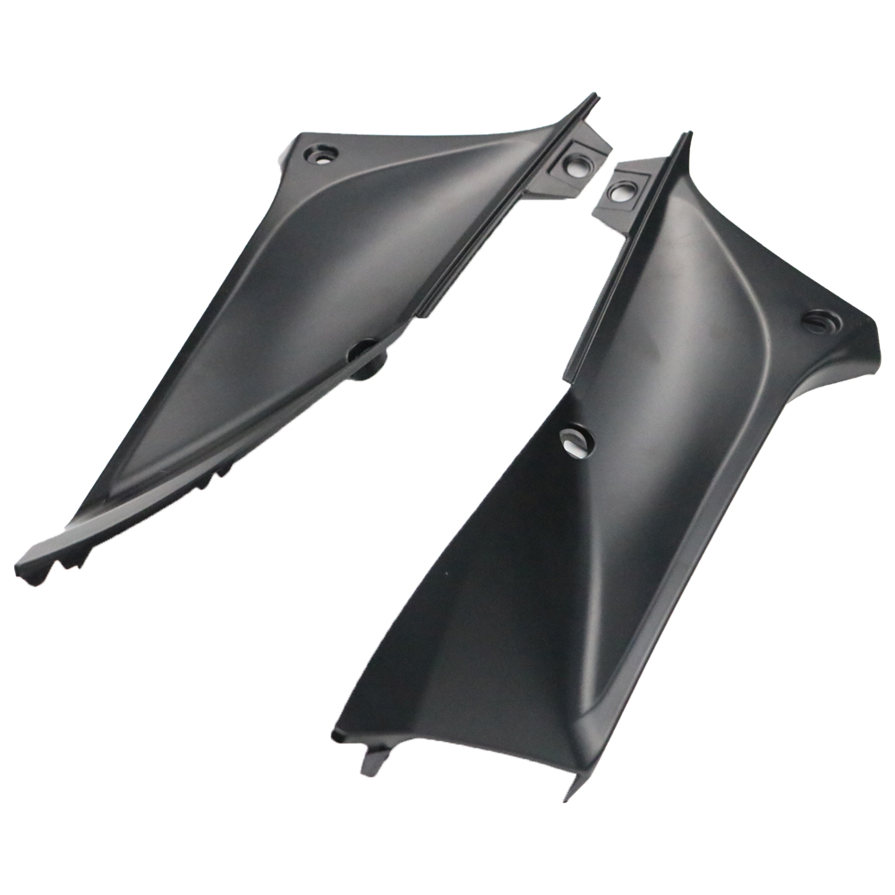 1 Pair Motorcycle Black ABS Side Panels <font><b>Fairing</b></font> Cover Protector for <font><b>Yamaha</b></font> YZF <font><b>R1</b></font> 2002 <font><b>2003</b></font> image