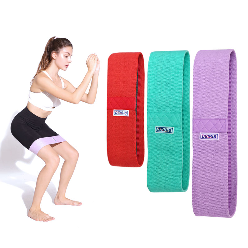 Booty Resistance Bands, Non-Slip Soft Fabric Wide Hip Workout Band For Legs And Butt,Activate Glutes And Thigh For Women And Men
