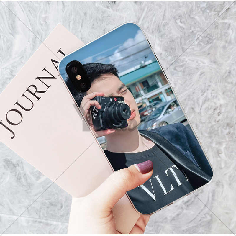 Yinuoda SEHUN CHANYEOL EXO Transparent Soft Shell Phone Cover for iPhone X XS MAX 6 6S 7 7plus 8 8Plus 5 5S XR
