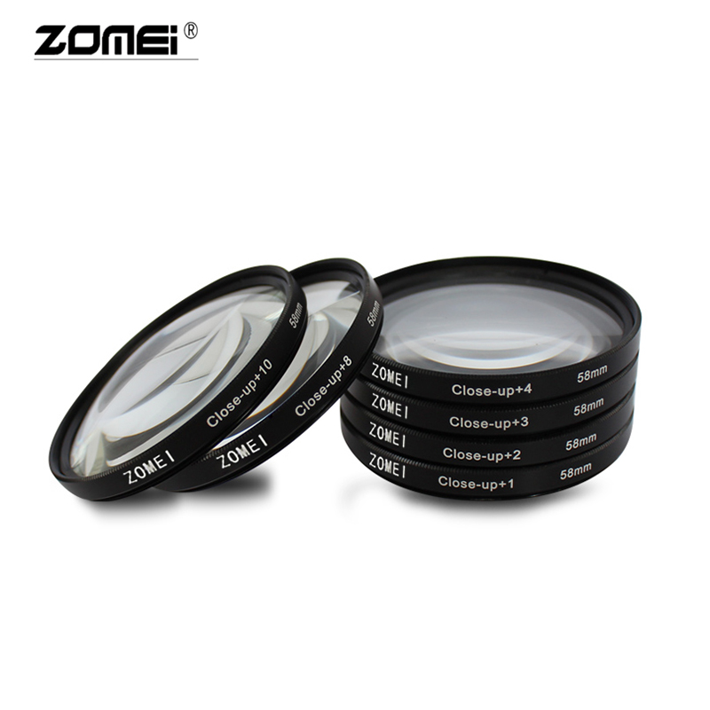 Image 5 - Zomei Macro Close up Lens Filter +1 +2 +3 +4 +8 +10 Optical Glass Camera Filter Enlarging Shooting for Canon Nikon DSLR CameraCamera Filters   -