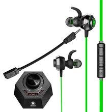 PLEXTONE G50 משחק אוזניות 3.5mm אוזניות משחק DSP קול מעבד HiFi רטט משחקי בס רעש ביטול עם כפול מיקרופון