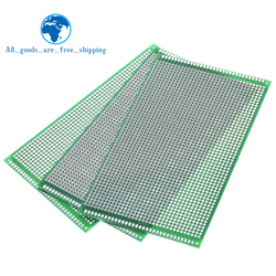 5PCS 9x15 cm PROTOTYPE PCB 2 layer 9*15CM panel Universal Board double side 2.54MM Green