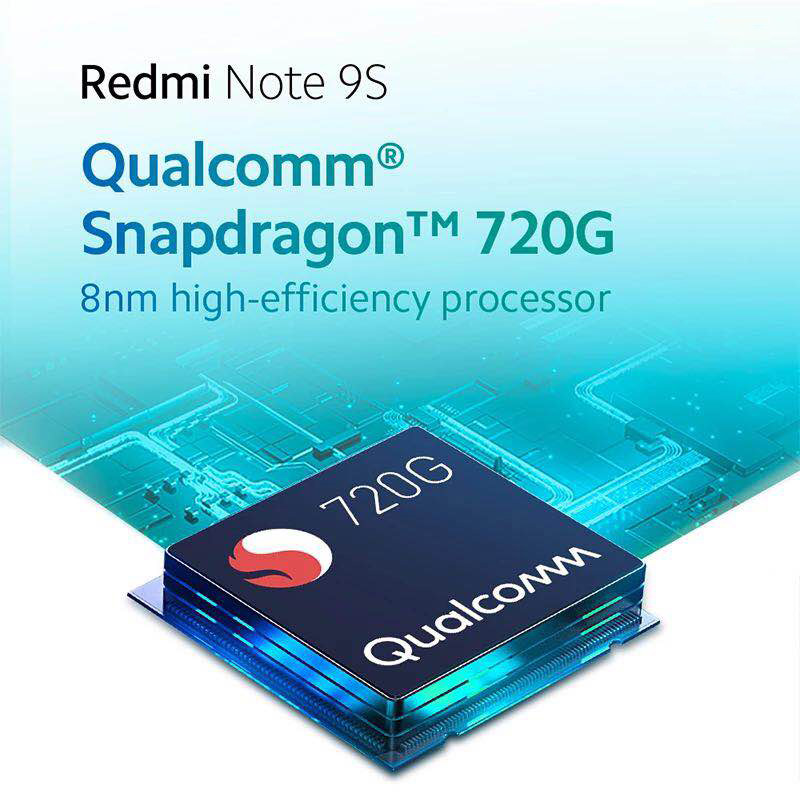 Global Version Xiaomi Redmi Note 9S 9 S 64GB 128GB Smartphone Snapdragon 720G 48MP AI Quad Camera 6.67\