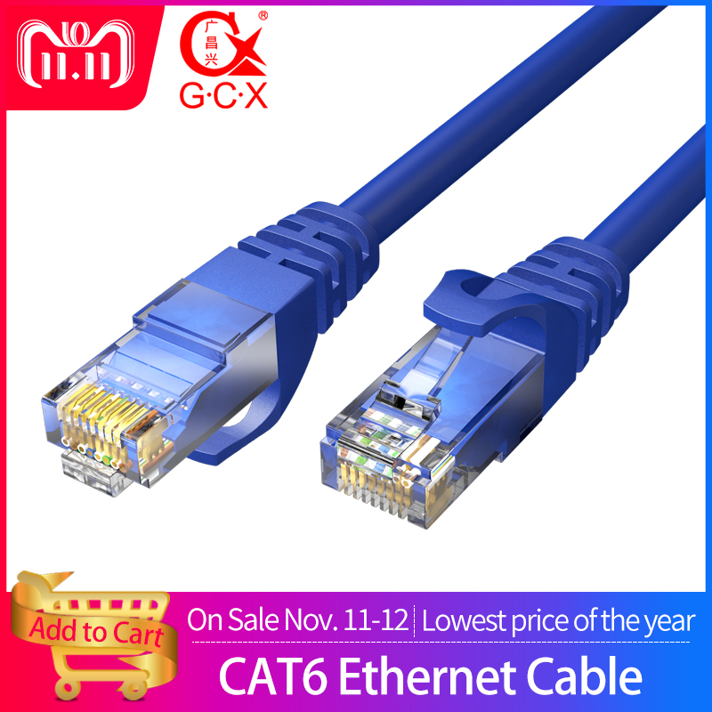 CAT 6 6a Ethernet Cable RJ45 UTP Patch Cord Lan Cable For Computer Router CAT6 CAT6a Connector Internet Network Computer Cable