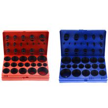 419PCS/ Box Rubber O Ring Kit Seal Gasket Universal Rubber O-ring Assortment Set For General Plumbers Mechanics Workshop(China)