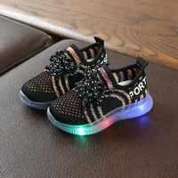 Zapatillas deportivas luminosas para niños y niñas, gran oferta
