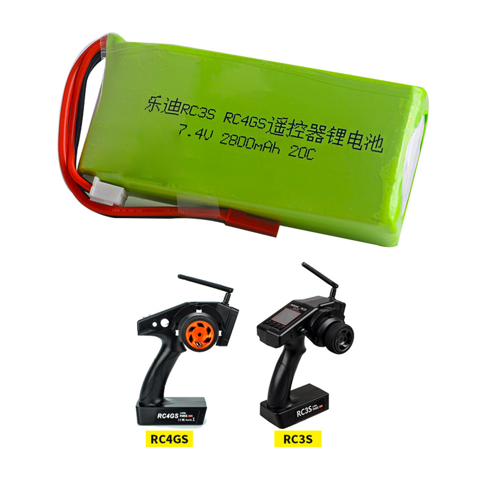 <font><b>2S</b></font> 7.4V <font><b>2800mah</b></font> 20C <font><b>Lipo</b></font> Battery For Radiolink RC3S RC4GS RC6GS Transmitter Radio Remote Controller image