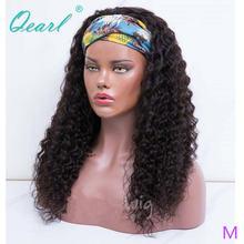Парик из человеческих волос головная повязка парики для женщин