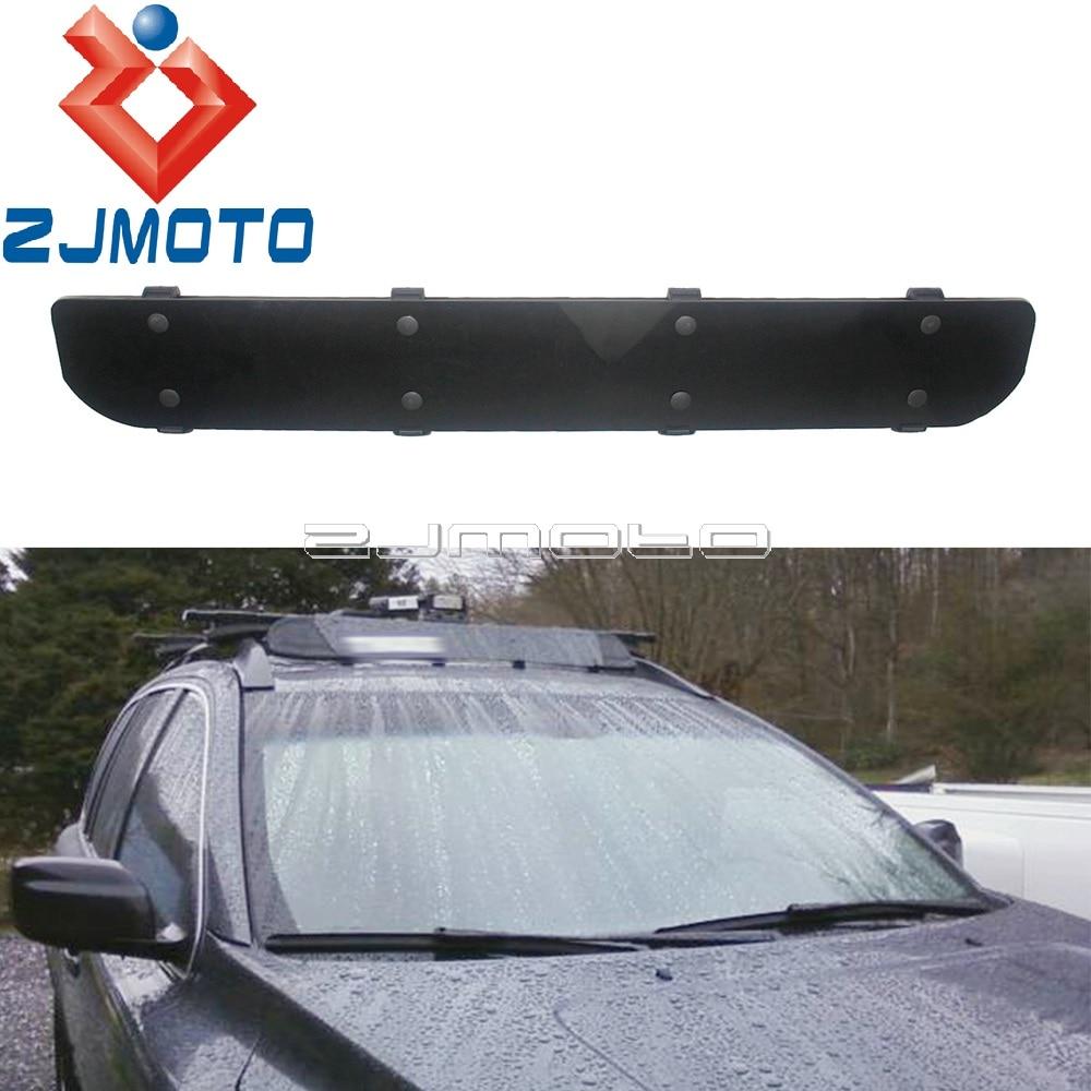 universal mount car top roof rack 40 long cargo rack car wind fairing 40 inch air deflector windshield wind fairing