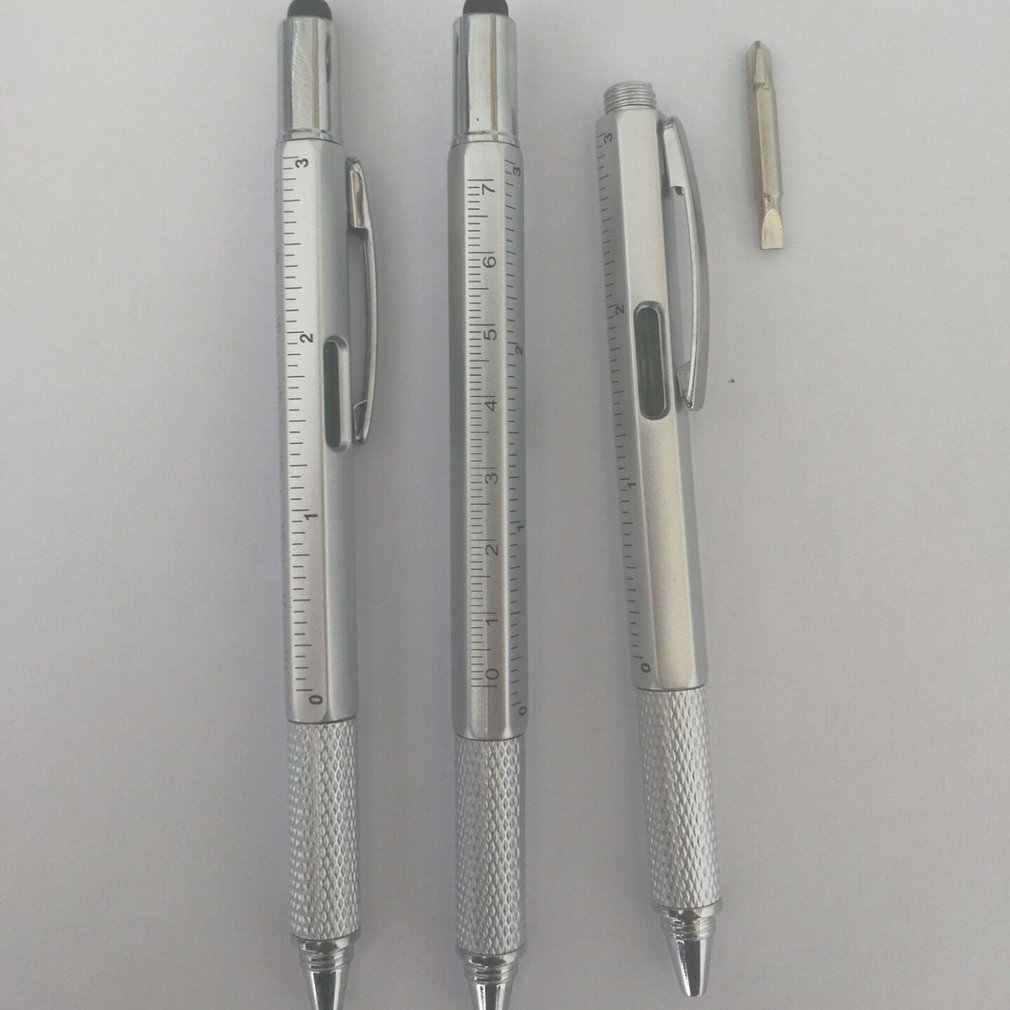 Đa Năng Bút Bi Mực Gel Vernier Caliper Con Lăn Bi Văn Phòng Phẩm Chấm Bi Thiết Thực Di Động