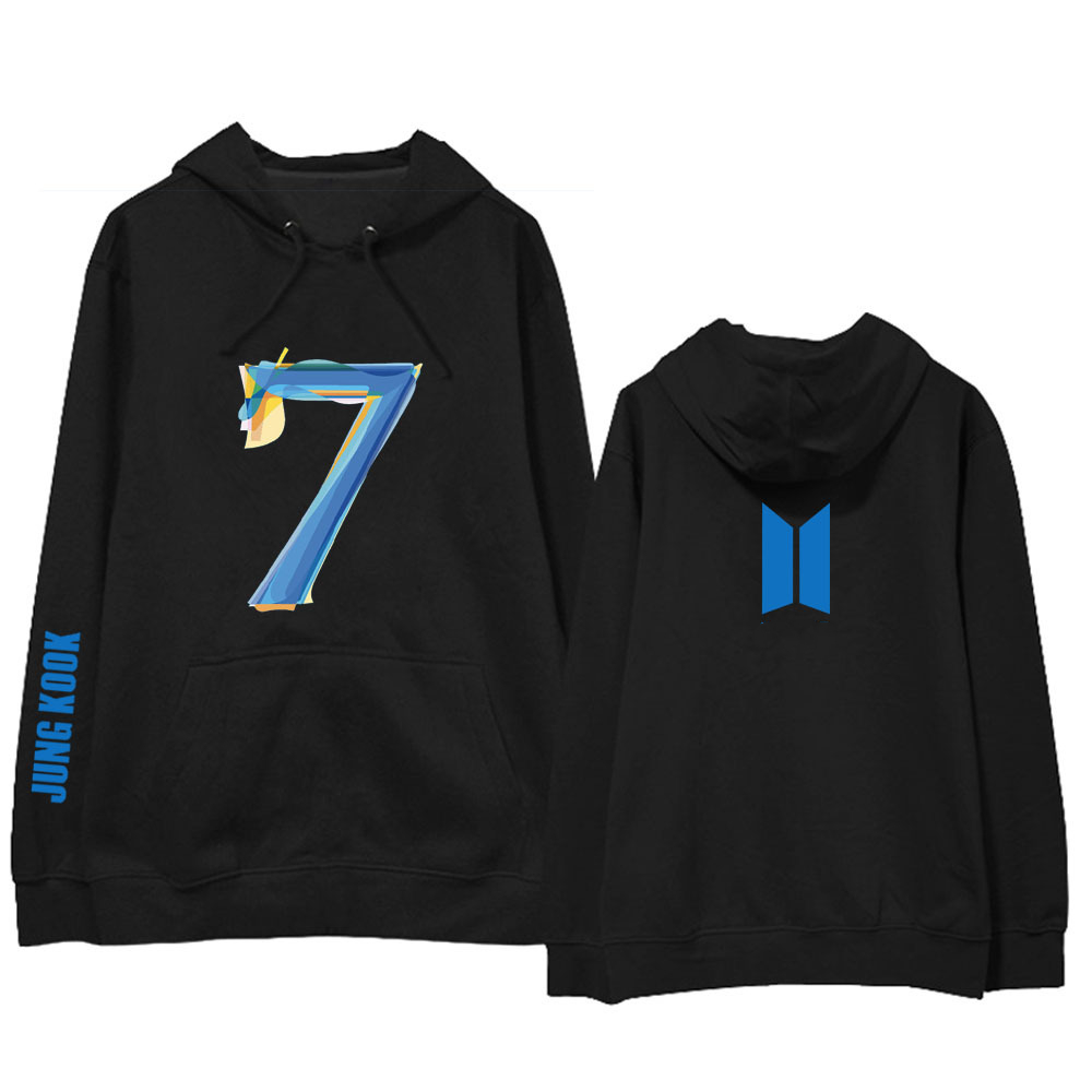 2020 Newest Bangtan Boys Map Of The Soul 7 Hoodie WORLD TOUR Concert With Men And Women Hoodies