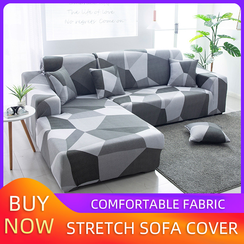 Home Simple Sofa Cover L-shaped Combination Sofa Cover All Surround Universal Cover For Sofas Heart-Shaped Couch Cover
