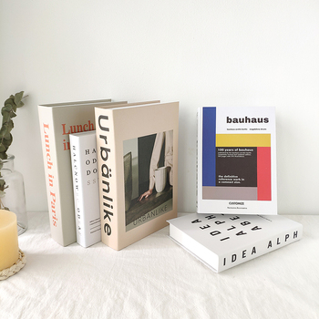 INS Fake Book Decoration Home Decoration Book Simple Modern Nordic Style Decoration Book Magazine Simulation Book
